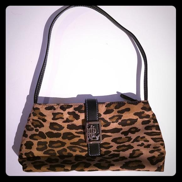 Lauren Ralph Lauren Handbags - Lauren Ralph Lauren small leopard purse cb8f523837f59